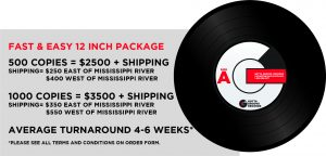 Fast & Easy 12 Inch Record Pressing